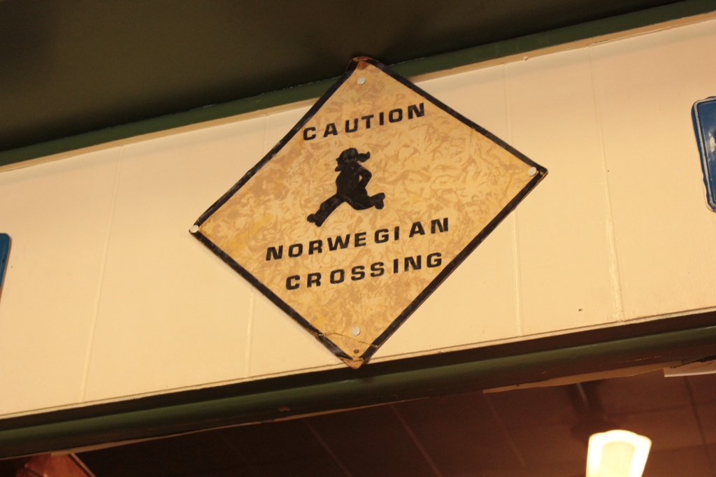 Nordic Crossing sign
